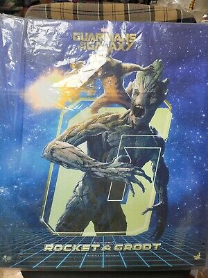 $ CDN675.94 • Buy Hot Toys MMS254 Guardians Of The Galaxy Rocket And Groot