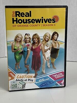 £17.74 • Buy The Real Housewives Of Orange County: Season 3 (DVD, 2011, 3-Disc Set) Sealed