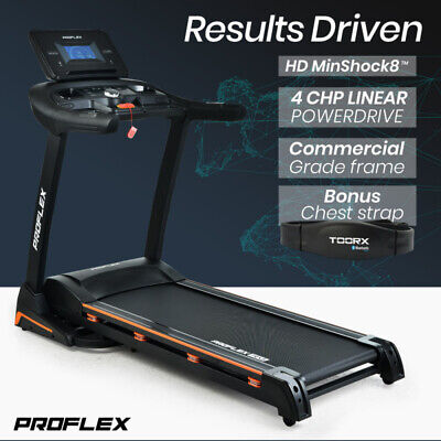 AU1249 • Buy 【EXTRA10%OFF】PROFLEX Treadmill Running Machine Foldable Home Fitness Large