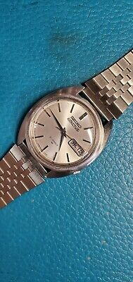 $ CDN110.34 • Buy 1970's Seiko 5 Actus Ref.7019-7080 Day-Date Automatic Gent Watch #Japan Version