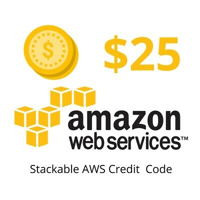 $ CDN13.36 • Buy AWS $25 Credits Code (Only 1 Code Per Account). NON-EDU. New Event: May 2021