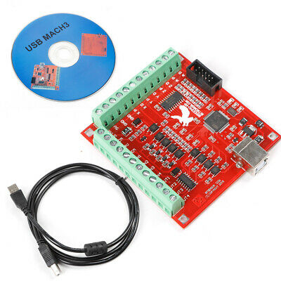 $35 • Buy MACH3 USB CNC 4 Axis Kit Stepper Motor Controller Board Stepper Motor USB Cable