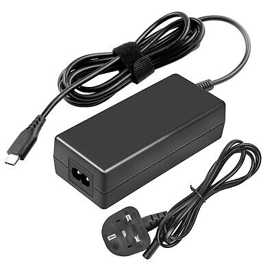 £12.99 • Buy 65W USB-C Type-C AC Adapter Charger For Dell Lenovo Thinkpad HP ASUS ZenBook W