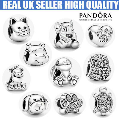£9.99 • Buy ALE S925 Genuine Silver Pandora Friends Passions Animals Pets Charm & Gift Box