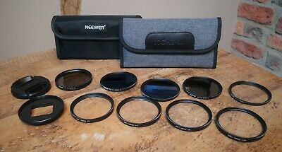 $ CDN1.70 • Buy Neewer And JJC Gopro Filter Adaptor And Macro And  ND Filters For Gopro Hero 7