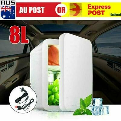 AU48.49 • Buy 8L 2 In1 Home Car Mini Portable Fridge Small Drinks Beer Cooler Bar Freezer AU