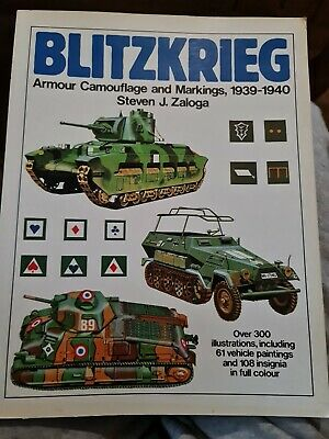 £8.60 • Buy Blitzkrieg Armour Camouflage And Markings,1939-1945