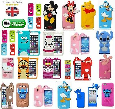 £4.95 • Buy Phone Kids Cover ~ Rubber 3D Fun Case ~ For Samsung Galaxy & Apple IPhone Models
