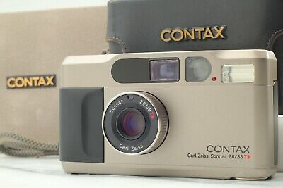 $ CDN1334.45 • Buy 【MINT In CASE】 Contax T2 35mm Point & Shoot Film Camera + Date Back From JAPAN