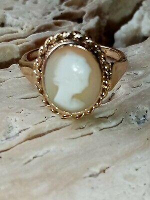 £50 • Buy Vintage Cameo Ring