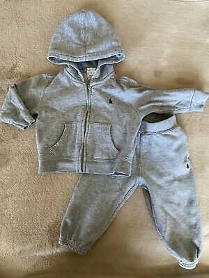 £6 • Buy Baby Boys Ralph Lauran Tracksuit 12 Months