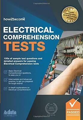 £24.74 • Buy ELECTRICAL COMPREHENSION TESTS: 100s Of Sample Test Questions And Detailed An…