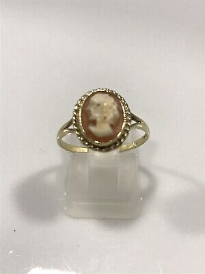 £49 • Buy 9ct 375 Gold Cameo Ring