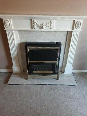 £70 • Buy  Balanced Flue Gas Fire And Fireplace