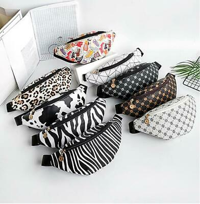 £4.59 • Buy Bum Bag Fanny Pack Travel Pouch Festival Waist Belt Leather Holiday Money Wallet