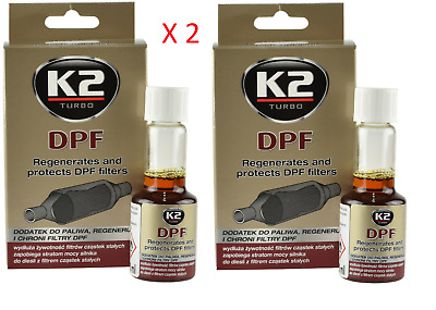 £8.19 • Buy 2x DPF K2 REGENERATES AND PROTECTS DPF PARTICULATE FILTERS CLEANER ALL DIESEL
