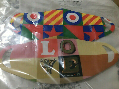 £12.99 • Buy Limited Edition Sir Peter Blake Face Coverings  (3 In A Pack)