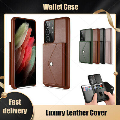 $ CDN8.48 • Buy For Samsung Note20 Note10 Note9 Note8 Luxury Leather Flip Cover Wallet Case