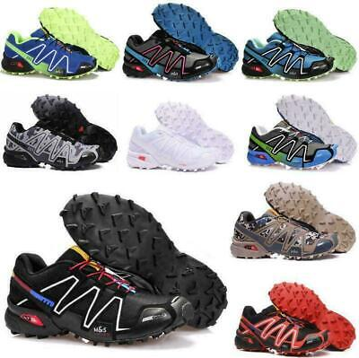 £23.99 • Buy Mens Salomon Speedcross 3 Running Shoes Trainers Non-slip Sport Offroad Sneakers