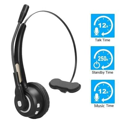 £20.80 • Buy Wireless Bluetooth Calling Earphones Headset For Call Center Office Home