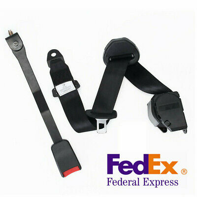 $29.41 • Buy US! 3 Point Adjustable Car Truck Racing Seat Belt Lap 26700 N Strength Polyester