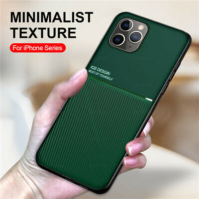 AU13.99 • Buy For IPhone 12 Pro Max 11 XS 7 8 Magnetic Glass Case TPU Cover With Ring Holder