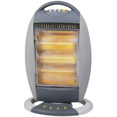£18.99 • Buy 1200W Halogen Heater Instant Portable Electric Oscillating  Home Office 3825