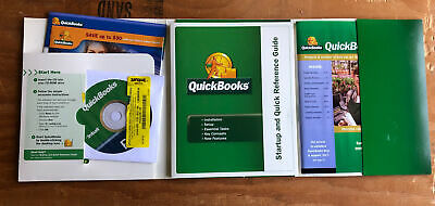 £28.28 • Buy Intuit Quickbooks Pro 2006 (Windows) Small Business Financial Software W/ Book