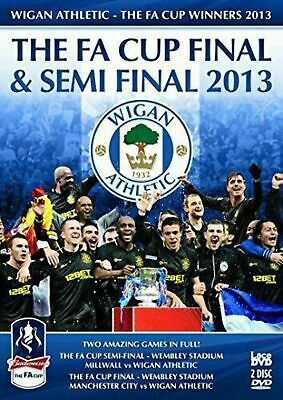 £6.87 • Buy Wigan Athletic FA Cup Final & Semi Final 2013 [DVD] - BRAND NEW & FACTORY SEALED