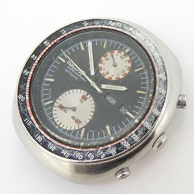 $ CDN155.09 • Buy Vintage Seiko 6138 0011 Steel Mens Automatic UFO Chronograph Watch $1 NO RES