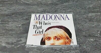 £20.99 • Buy Madonna Who's That Girl Extended Version White Heat UK CD Single 1995 NEAR MINT