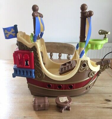 £7.50 • Buy ELC Happyland Pirate Ship & Treasure Chest & Map Table Early Learning Centre