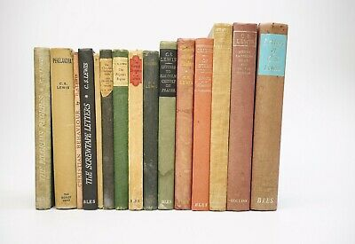 £90 • Buy Collection Of 13 Books By C. S. Lewis.