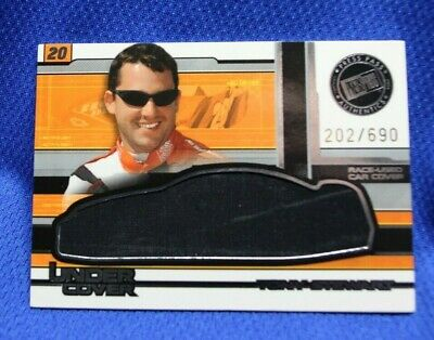 $9.99 • Buy Press Pass NASCAR  UNDER COVER  Trading Card TONY STEWART Car Cover 202/690