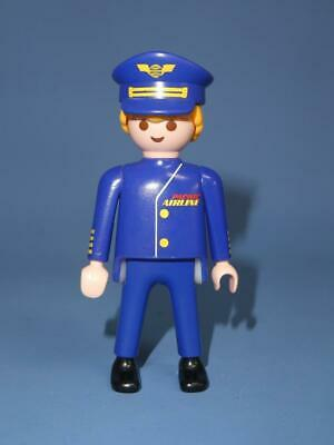 £3.65 • Buy Playmobil Pilot / Captain  Male Figure Plane Aeroplane  Airport From 4310