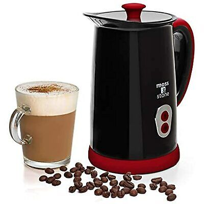 $28.52 • Buy Moss & Stone Electric Milk Frother & Steamer For Making Latte, Cappuccino, Hot