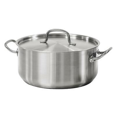 $ CDN62.20 • Buy Tramontina Pro Line 9 Quart Stainless Steel Lid & Handle Dutch Oven All Cooktops