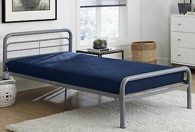 $ CDN43.55 • Buy Value 6 Inch Polyester Filled Quilted Top Bunk Bed Mattress, Twin, Navy