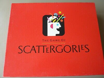£17.95 • Buy Scattergories Board Game - MB Games 1993 - Complete Original 6 Player Edition