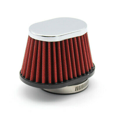£7.69 • Buy 55mm Universal Motorcycle Air Filter Breather Oval High Flow Intake Cone Pod