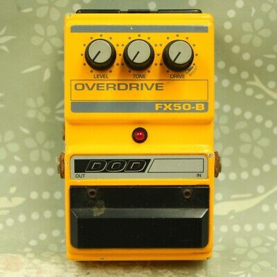$ CDN75.02 • Buy DOD FX50-B Overdrive Description Must Read Guitar Effect Pedal (514776)