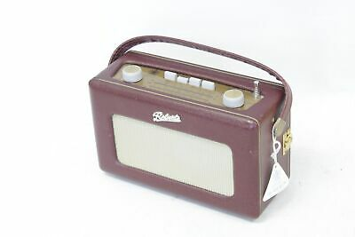 £15.99 • Buy ROBERTS Revival R250 FM/AM/LW Portable Radio Leather Cloth Maroon - S29