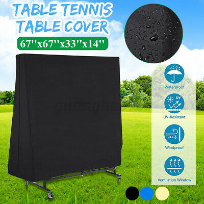 AU28.39 • Buy AU Full Size Table Tennis Ping Pong Table Cover Indoor/Outdoor Waterproof └