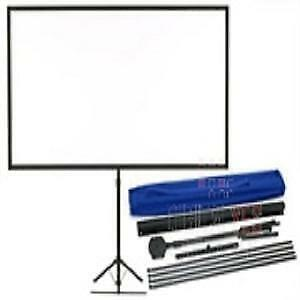 AU123.36 • Buy Epson Portable Tripod Projector Screen Suits All Projectors 80in Wide