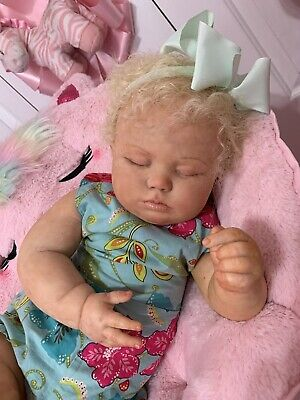 $ CDN272.24 • Buy Ooak Reborn Newborn Baby Girl  Reborn Baby  Toddler June   Art Doll