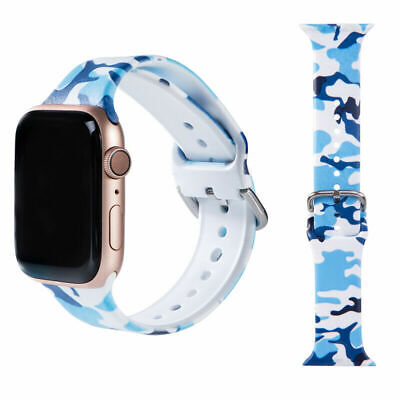 $ CDN7.30 • Buy For Apple IWatch Series 123456 Men Women Replacement Watch Strap Band 38mm-44mm
