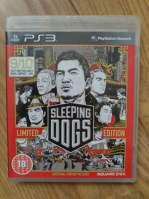 £4 • Buy Sleeping Dogs -- Limited Edition (Sony PlayStation 3, 2012)