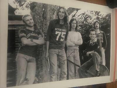 £100 • Buy Genesis Signed Photo By Tony Steve And Mike This 12x8 Photo Proof