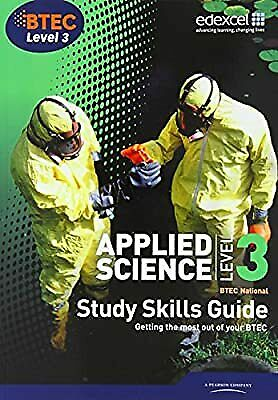£3.82 • Buy Applied Science, BTEC National: Level 3, Study Skills Guide, , Used; Good Book