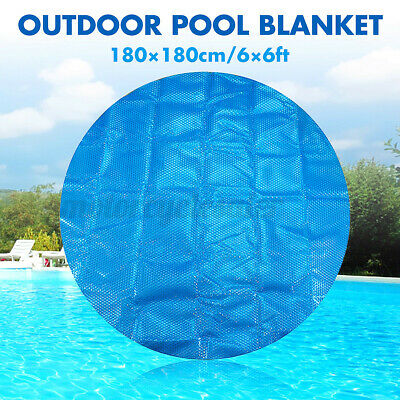 £22.69 • Buy 6Ft Round 400Micron Swimming Pool Hot Tub Cover Solar Blanket Retention Bubble